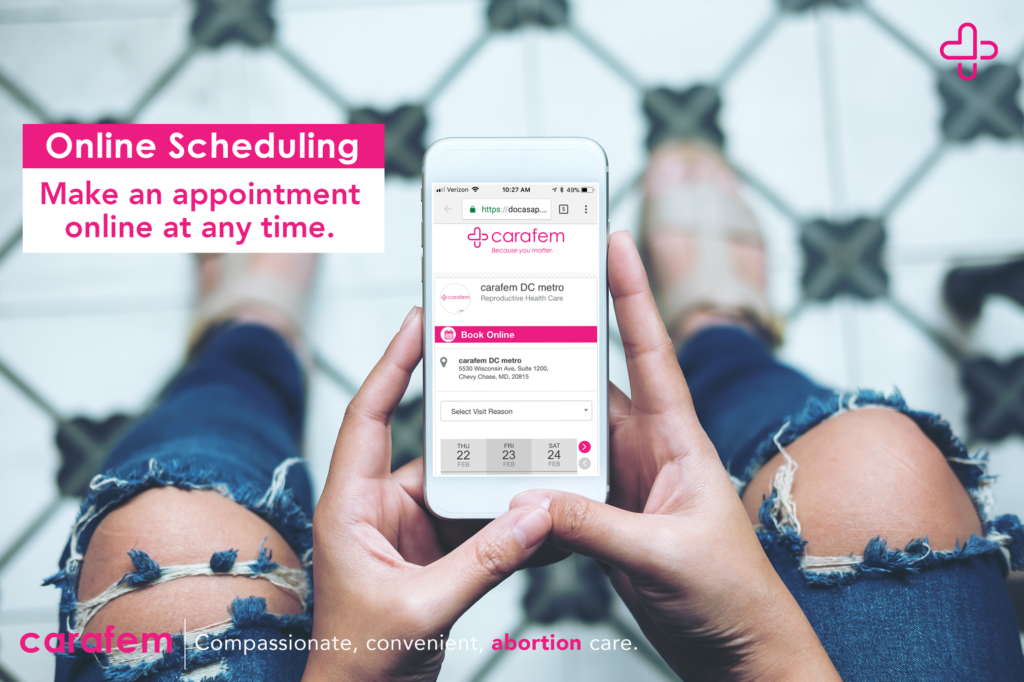 Online Abortion and Birth Control Scheduling